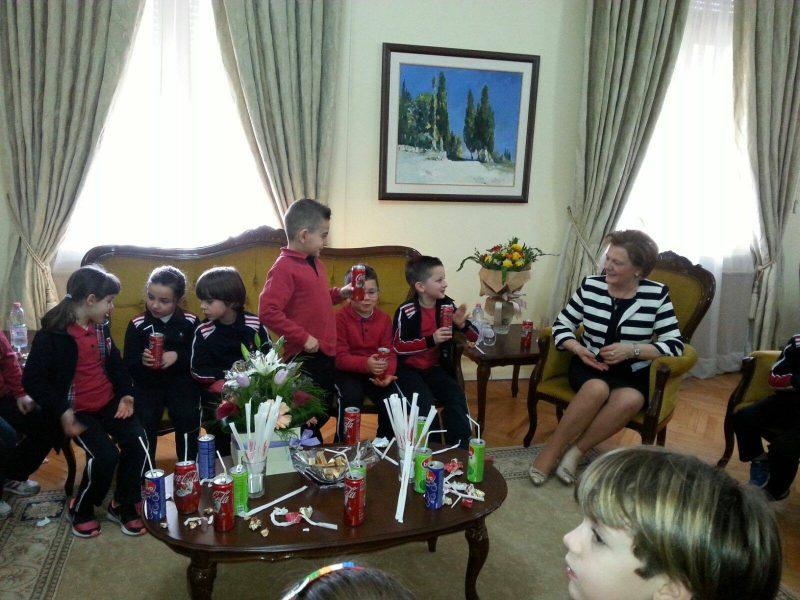 Vizitë në Kryesinë e Kuvendit të Shqipërisë