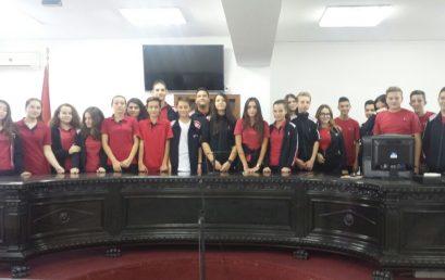 Klasa e 9E vizitë në Gjykatën e Rrethit Tiranë