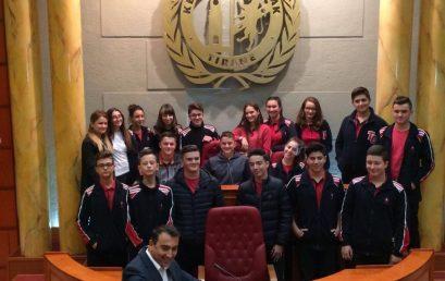 Klasa 9A në Bashkinë e Tiranës