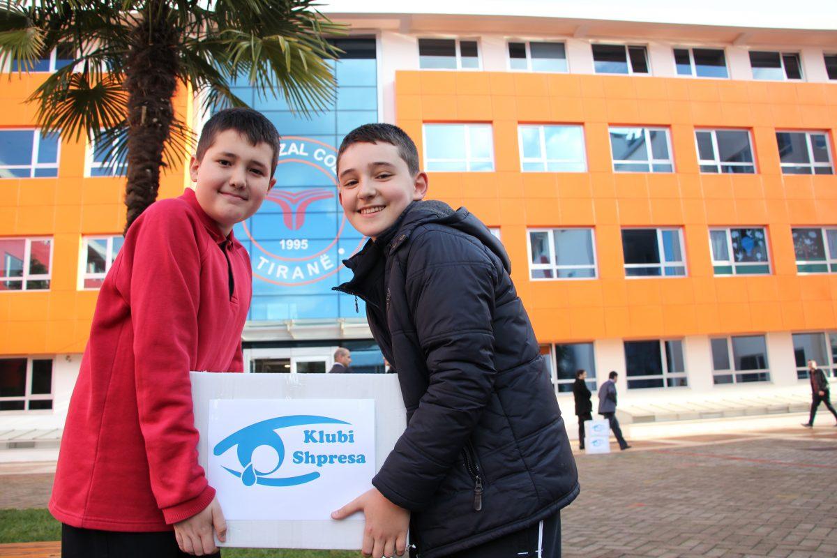Klubi  Shpresa  dhuron  ndihma  për  fshatin  Bubq në  Fushë-Krujë