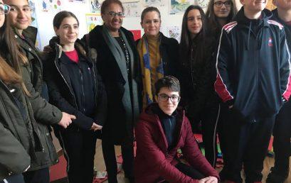 Nxënësit e klasës së 9A në Amurt Albania Center