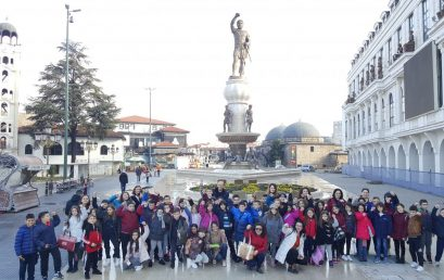 Klasat e treta organizojnë shëtitje në Maqedoni