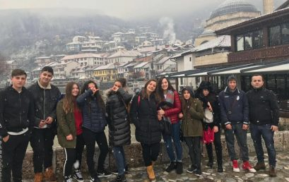 Nxënësit e klasës së 8C në Prizren