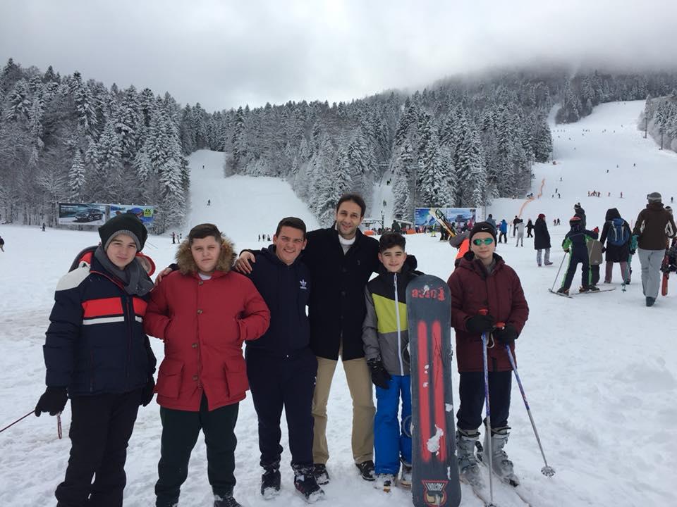 Klasat e shtata, shëtitje në Bosnje