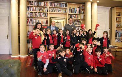 Nxënësit e klasës së 3A vizitë në Bashkinë e Tiranës