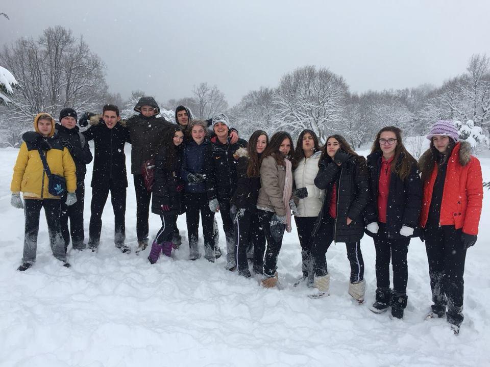 Klasa e 8B shëtitje në malin e Dajtit