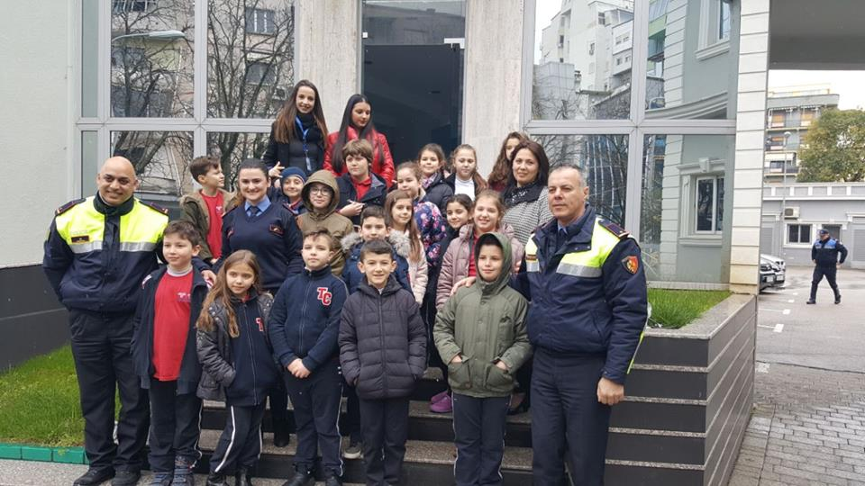 Klasa e 3E në Drejtorinë e Policisë Tiranë