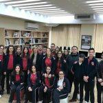 Klasa e 9G aktivitet në Bibliotekën Kombëtare