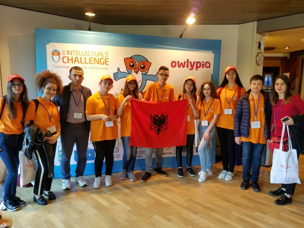 Nxënësit tanë konkurrojnë në Angli