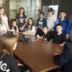 """Nxënësit e klasës së 7E vizitojnë fabrikën e qumështit """"Erzeni"""""""
