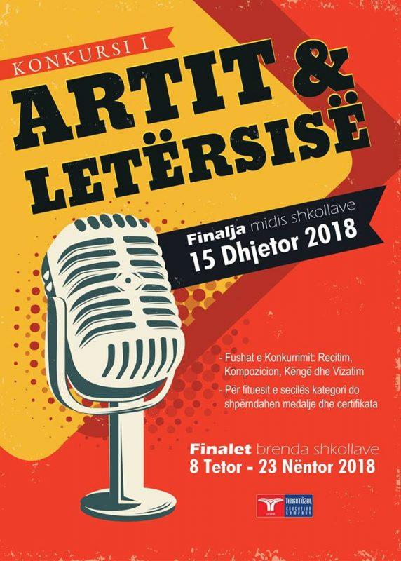 Konkursi i Artit dhe Letërsisë