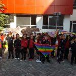 Mes ngjyrave e haresë në Ditën e Balonave