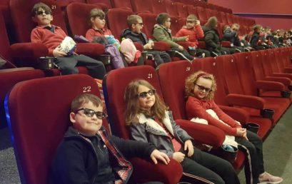 Vizitë në Kinema Cineplex  me klasat e I-ra