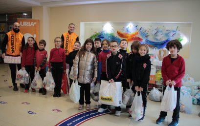 Klubi Shpresa aktivitet me FOODBANK Albania me rastin e Festave të Fundvitit
