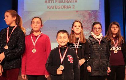 Medaljet e fituara në Konkursin e Artit dhe Letërsisë