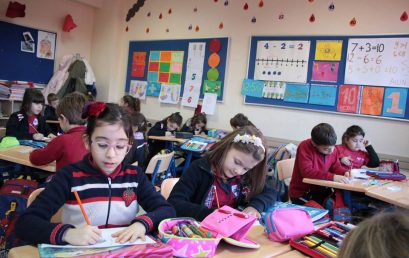 Nxënësit e shkollës fillore në Javën e Matematikës
