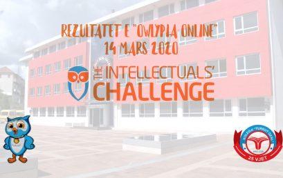 """Nxënësit e kolegjit """"Turgut Ozal"""" përfaqësohen denjësisht në Owlypia Online"""