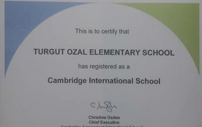 "Shkolla ""Turgut Ozal"" akreditohet nga ""Cambridge International"""